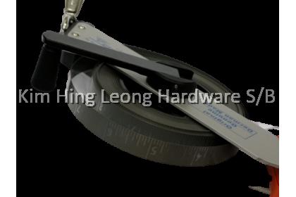 RICHTER Measuring Tape / Oil Dip Tape / Stainless Steel Tank Dipping Tape c/w Dip Weight (465-ES) - 10m/ 15m / 20m / 30m