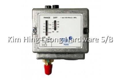 JOHNSON CONTROL/ PENN Pressure Switch (10 Bar & 21 Bar) c/w Copper Tube - P77AAA-9301 & P77AAA-9351